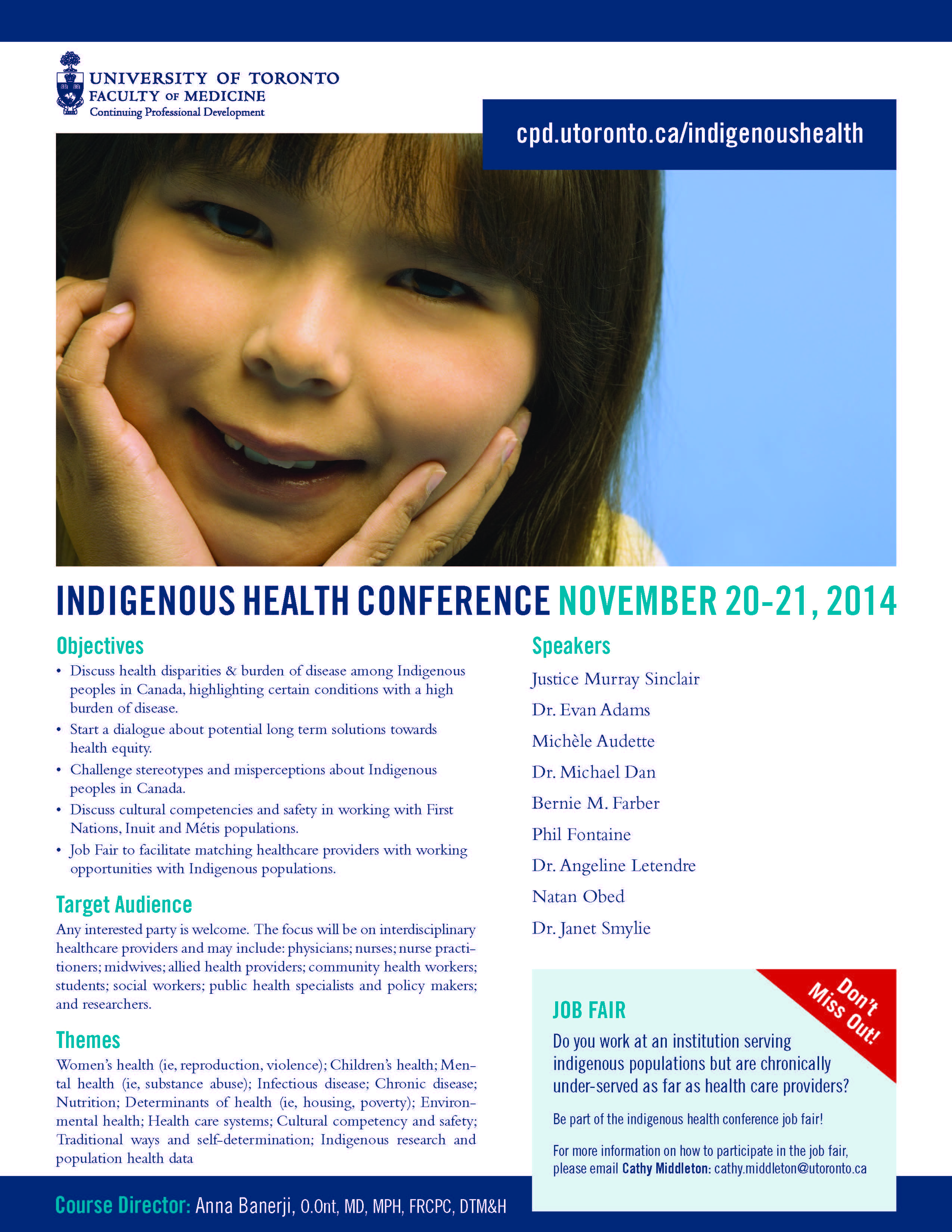 UofT Indigenous Health Conference Poster